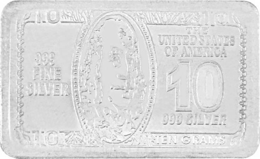 Jewel99 999s Dollar Silver Bar Price In India Buy Jewel99 999s