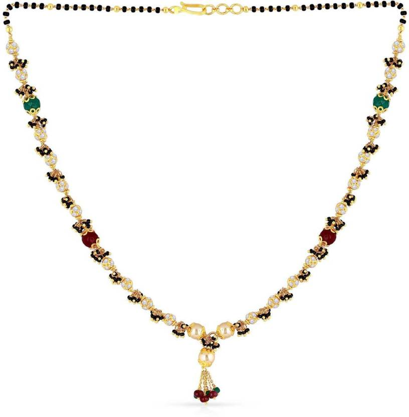 Malabar Gold and Diamonds Malabar 22kt Yellow Gold Mangalsutra