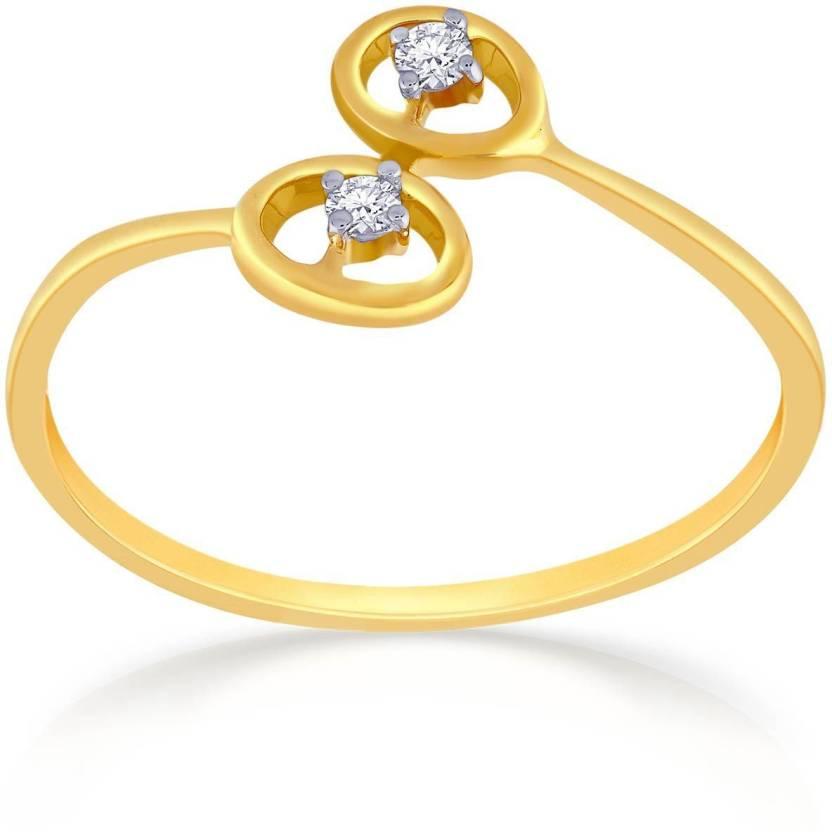 Malabar Gold and Diamonds R 18kt Diamond Yellow Gold ring