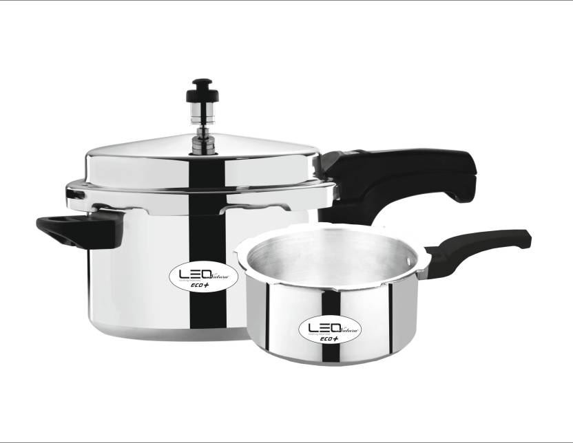 Leo Natura Eco + 3.5 L, 5 L Pressure Cooker with Induction Bottom