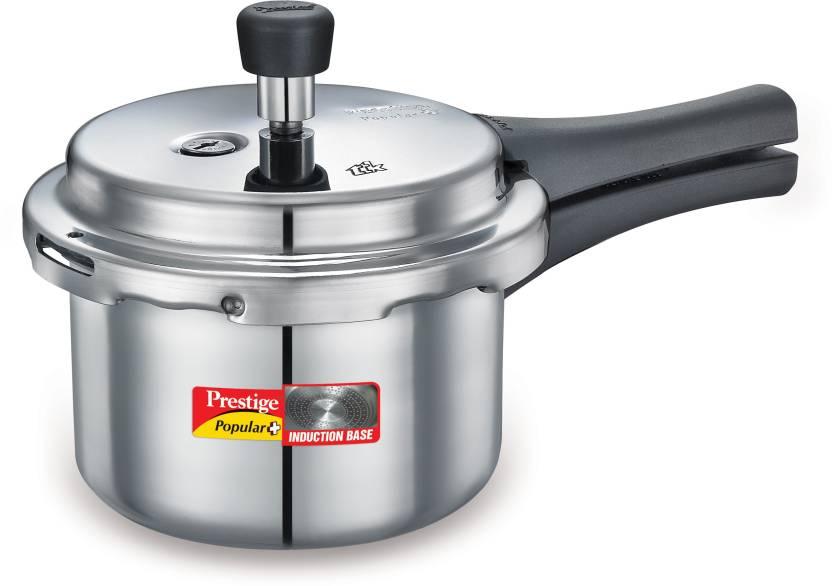 505d7d9ce84 Prestige Popular plus 1.5 L Pressure Cooker with Induction Bottom  (Aluminium)