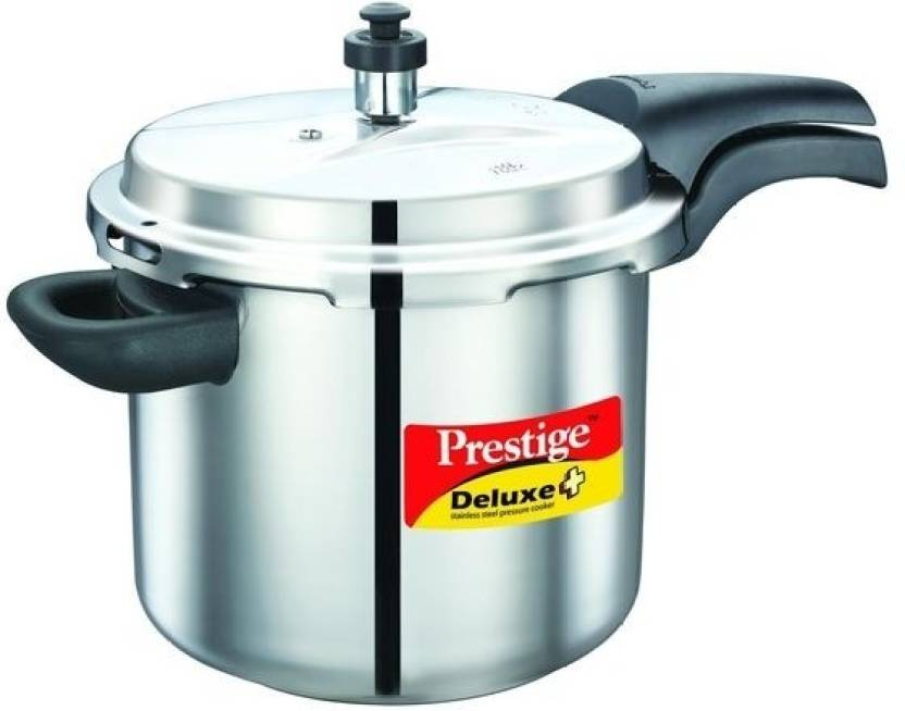 5501f3d59ce Prestige 5.5 L Pressure Cooker with Induction Bottom Price in India ...