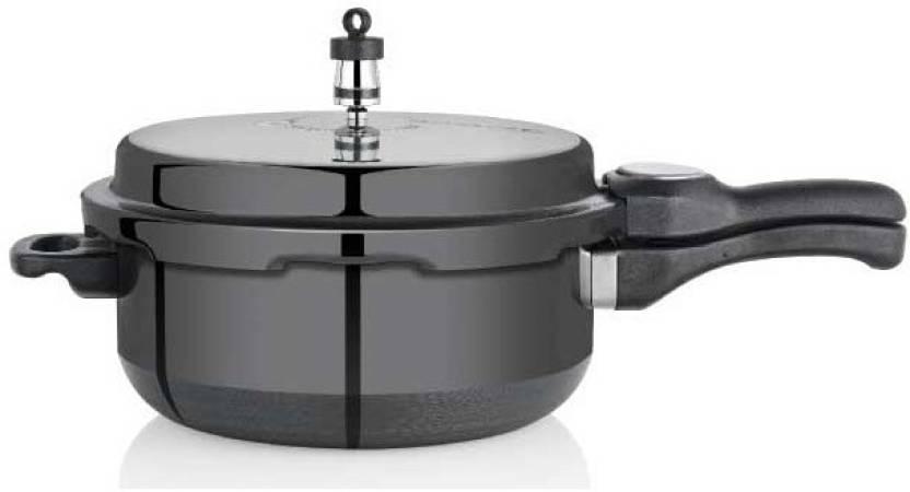 Premier Trendy Black 3 L Pressure Pan (Aluminium)