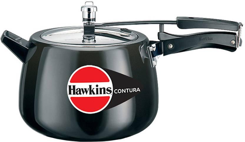 Hawkins Contura Hard Anodised 6.5 L Pressure Cooker