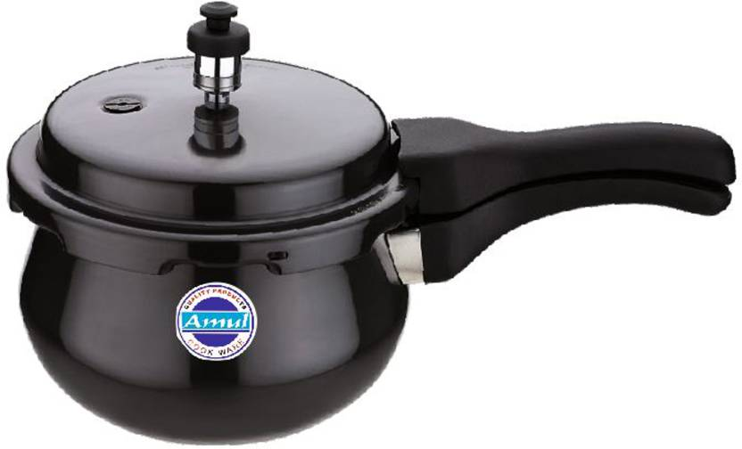 Amul Classic Outer Lid 1.5 Ltr Handi Hard Anodized Pressure Cooke...
