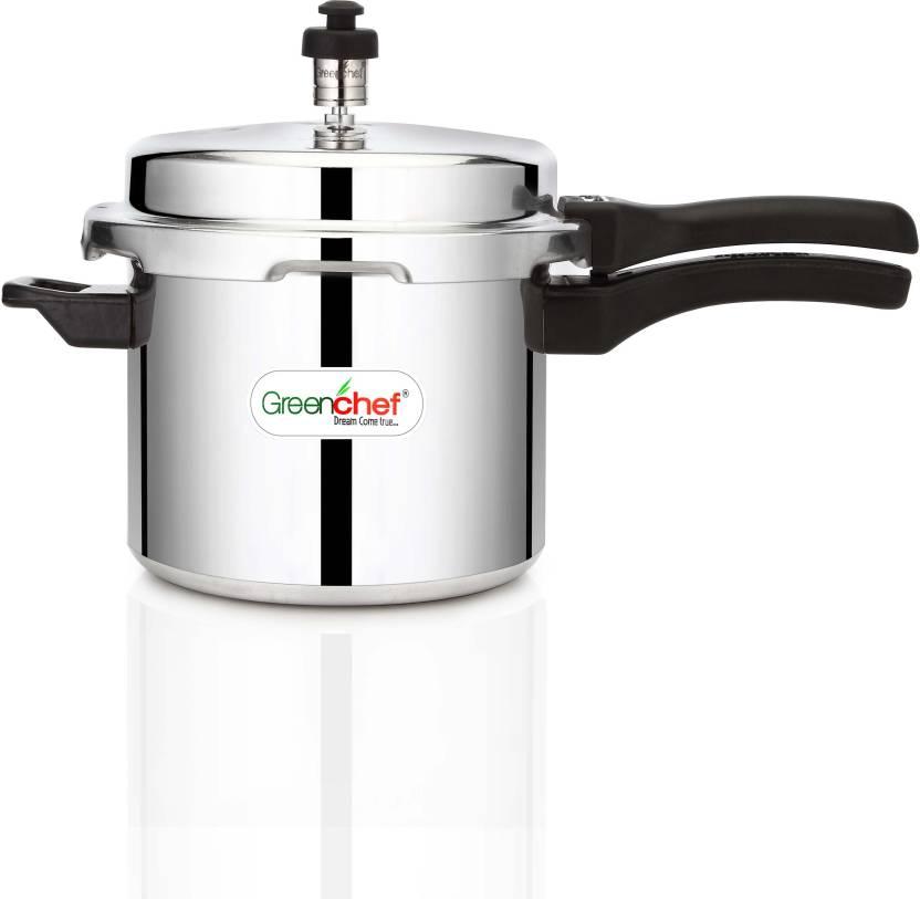 Greenchef 3 L Pressure Cooker (Induction Bottom, Aluminium)