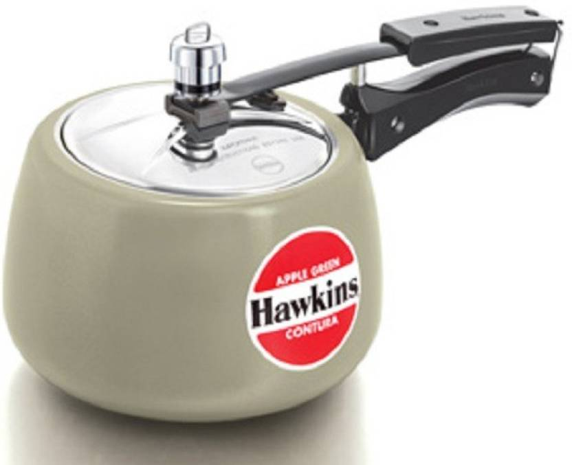 5d2a8f69b Hawkins Contura Apple Green 3 L Pressure Cooker Price in India - Buy ...