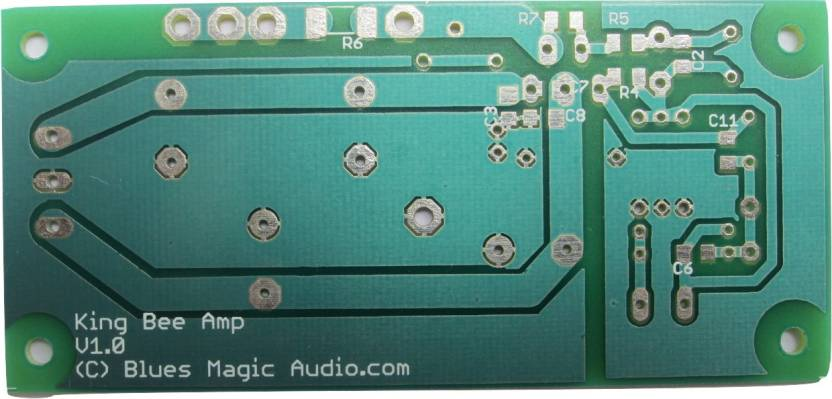 BluesMagicAudio Unwired Double Sided Printed Circuit Board