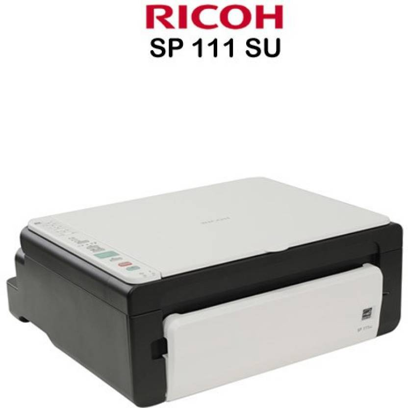 Ricoh SP111SU Multi-function Printer (Black, White)