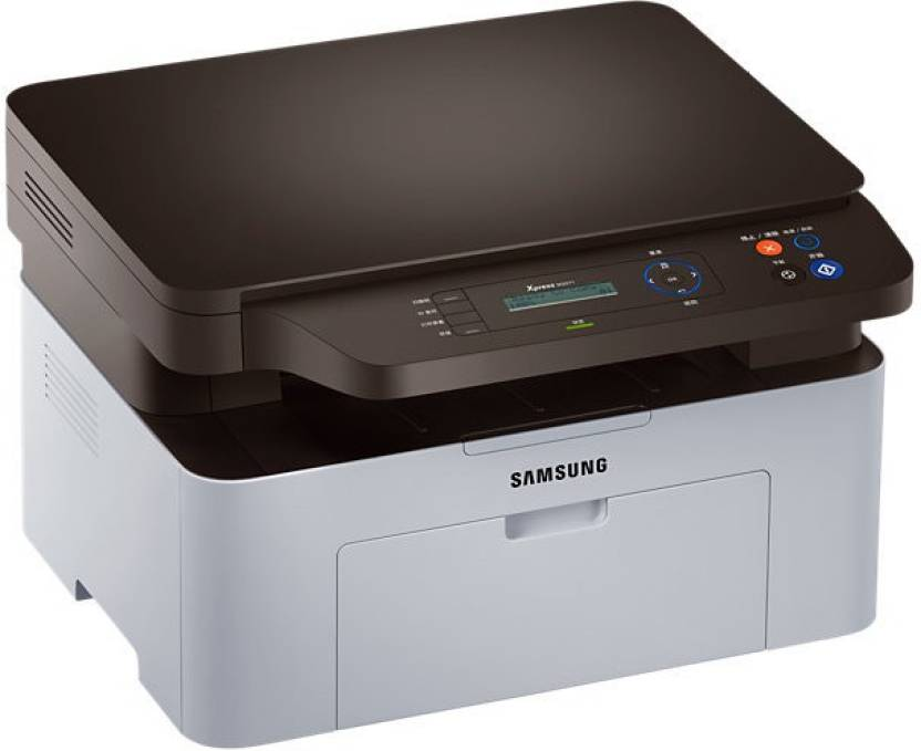 Samsung SL-M2071W Multi-function Printer (Black, Grey)