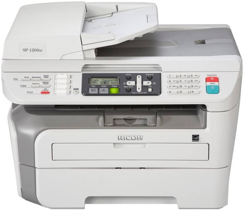 Ricoh Aficio SP 1200SF Multi-function Printer