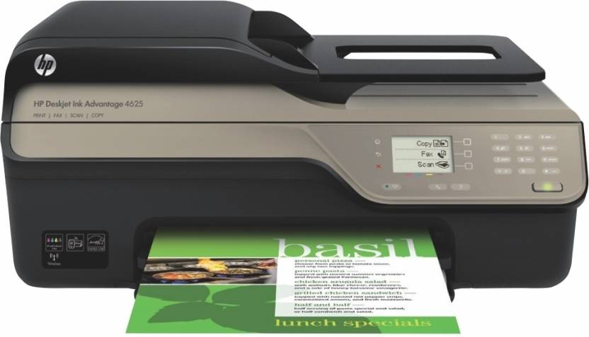 HP Deskjet Ink Advantage 4625 e-All-in-One Wireless Printer
