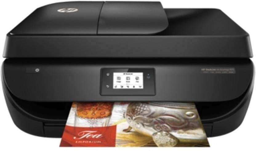 Extra Rs.300 off on Topselling HP Printers By Flipkart | HP DeskJet Ink Advantage 4675 All-in-One Multi-function Printer  (Black) @ Rs.6,799