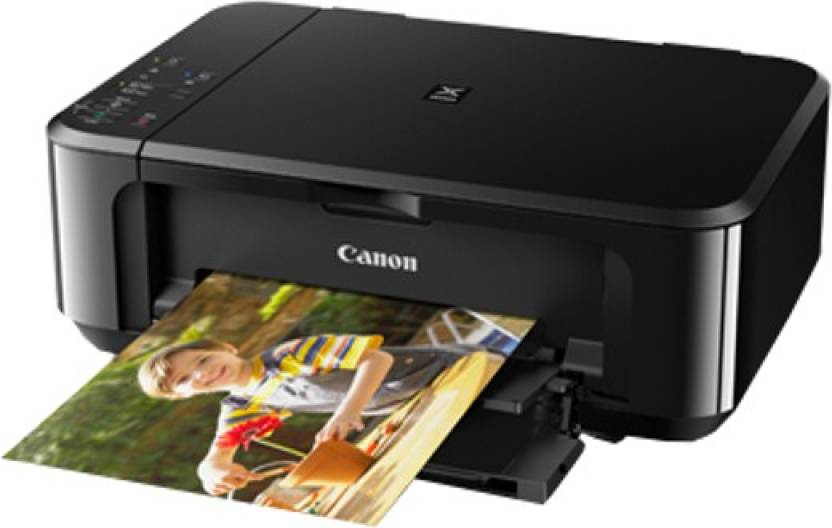 Canon Pixma MG3670 Multi-function Wireless Printer  (Black, Ink Cartridge)