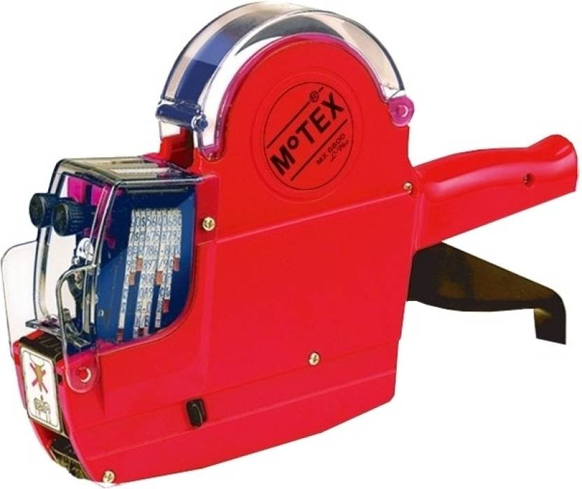 Motex MX-6600L Plus Price Labeler Printer (Red)