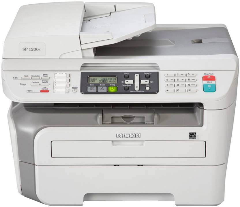 Ricoh Aficio SP 1200S Multi-function Printer