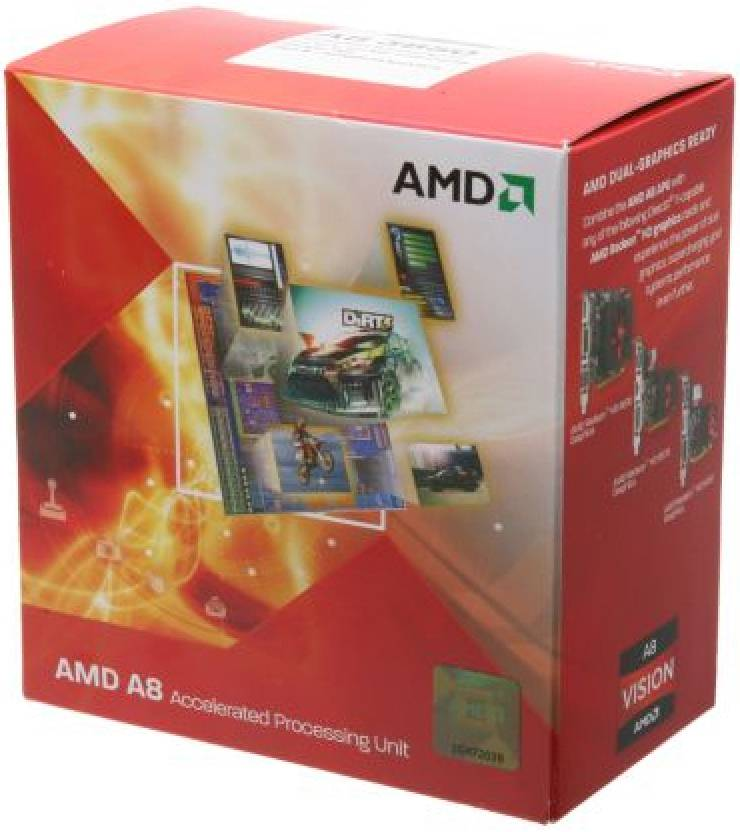AMD 2.9 GHz FM1 A8 3850 Processor