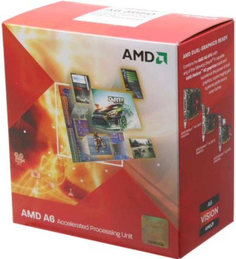 AMD 2.6 GHz FM1 A6 3650 Processor