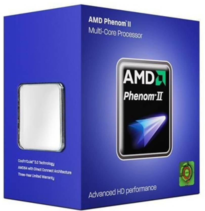 AMD 2.8 GHz AM3 Phenom II 1055T Processor