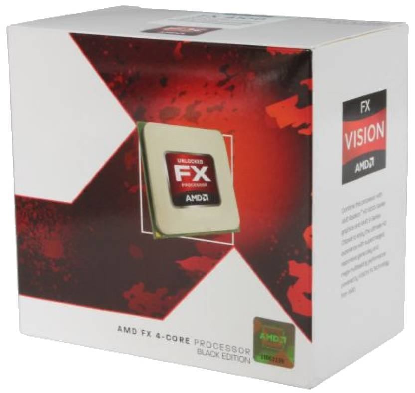 AMD 3.6 GHz AM3 FX4100 Processor