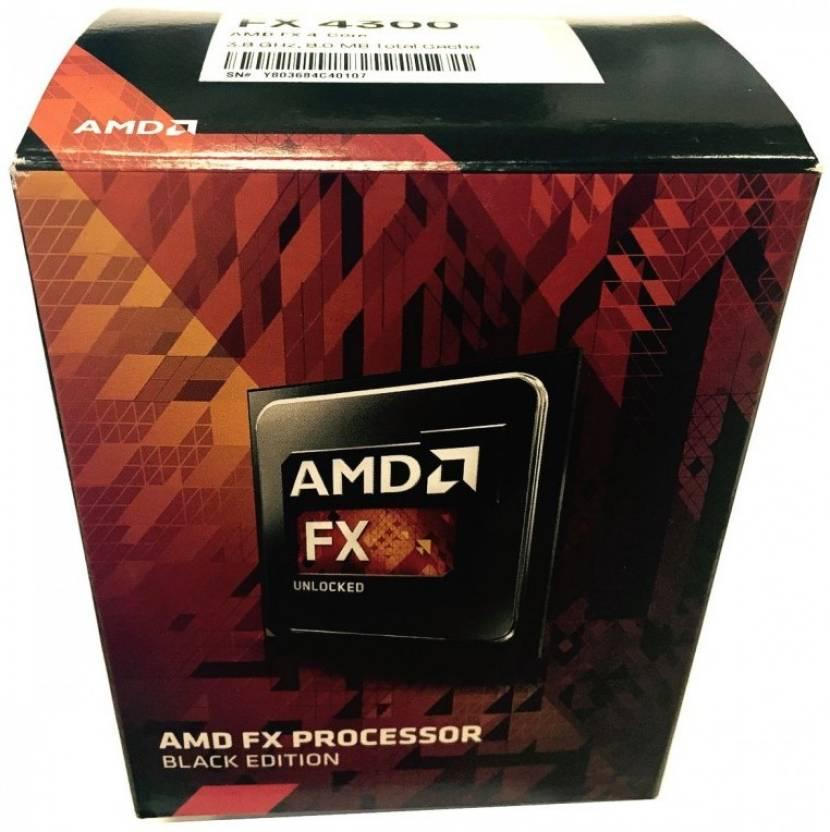 Amd 3 8 Ghz Am3 Fx 4300 Amd Fx 4 Core Processor Amd Flipkart Com