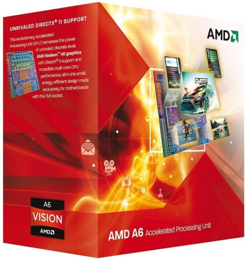AMD 2.1 GHz FM1 A6 3500 Processor