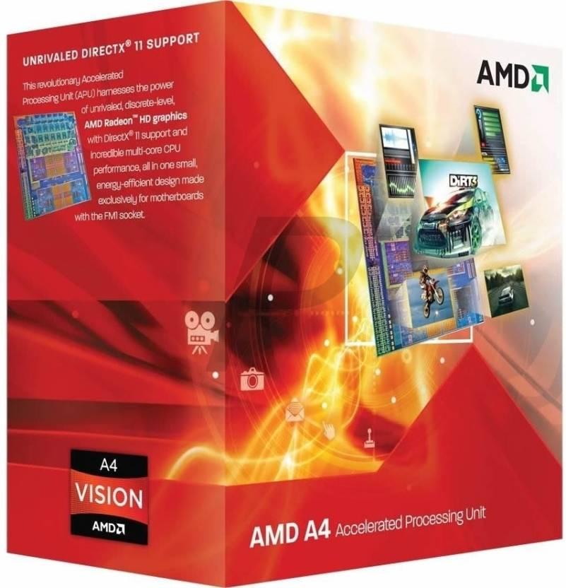 AMD 2.7 GHz FM1 A4 3400 Processor