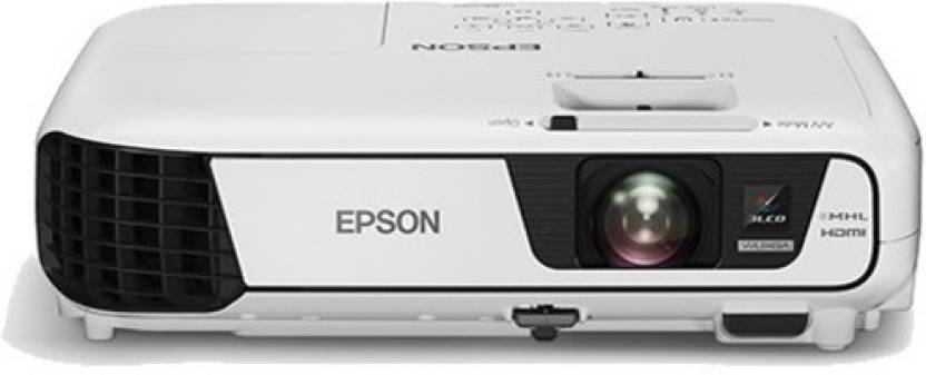 Epson EB - X31 Portable Projector  (White)-12% OFF