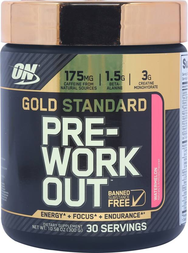 Optimum Nutrition Gold Standard Pre Workout Weight Gainers M