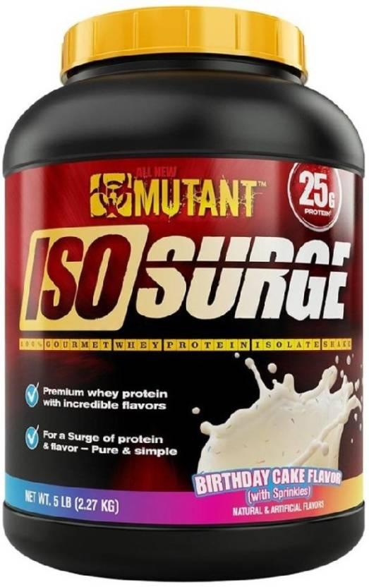 Mutant XPS-PRO-MUT-ISO-SURGE-5-BDAYCAKE Whey Protein (2.27 kg, Chocolate)