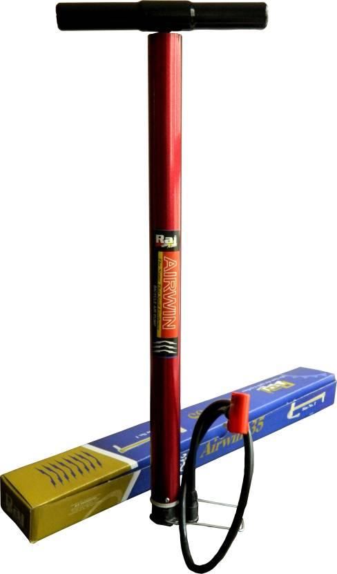 Raj Airwin Multipurpose Air Bicycle Pump Multicolor