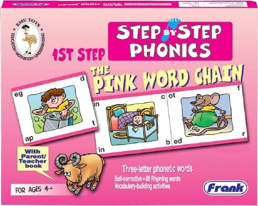 Frank The Pink Word Chain