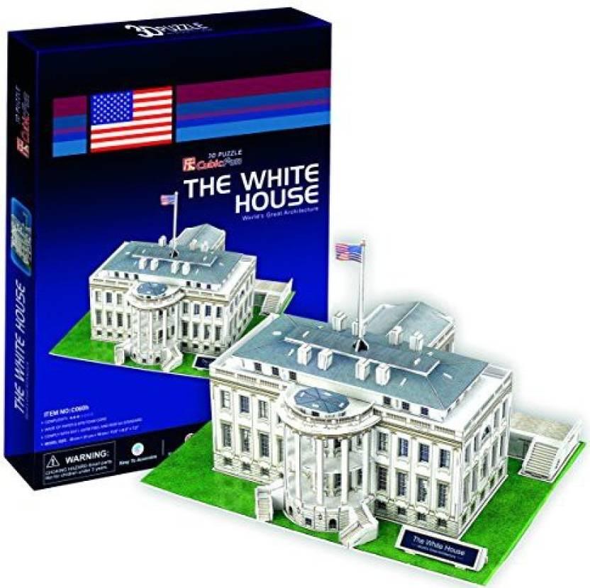 Cubicfun Daron Cf060h White House 3d Puzzle By Cubicfun