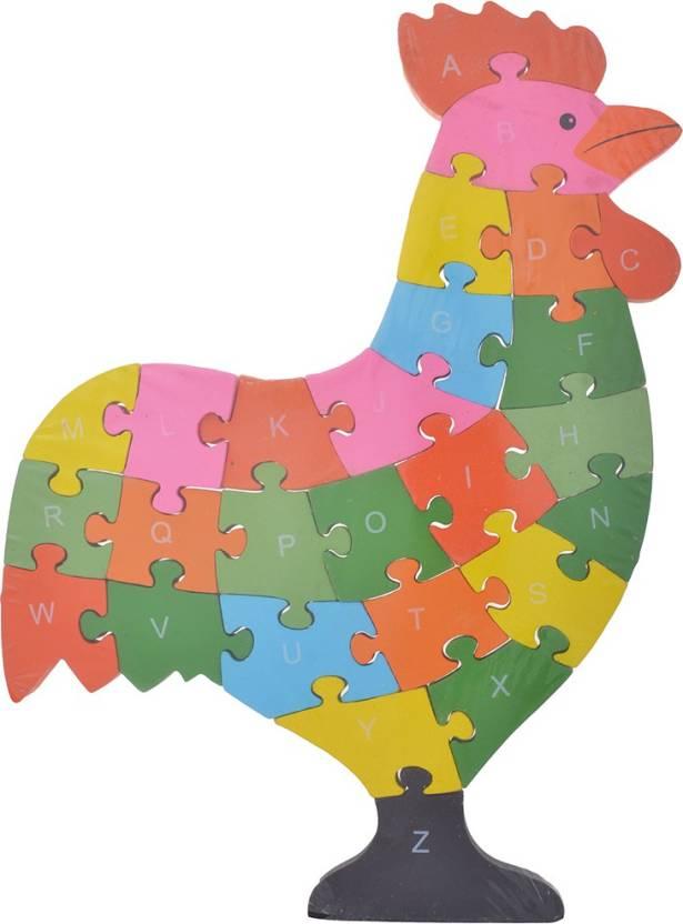 Gogalgai Toys ABCD Hen Puzzle - ABCD Hen Puzzle   shop for Gogalgai