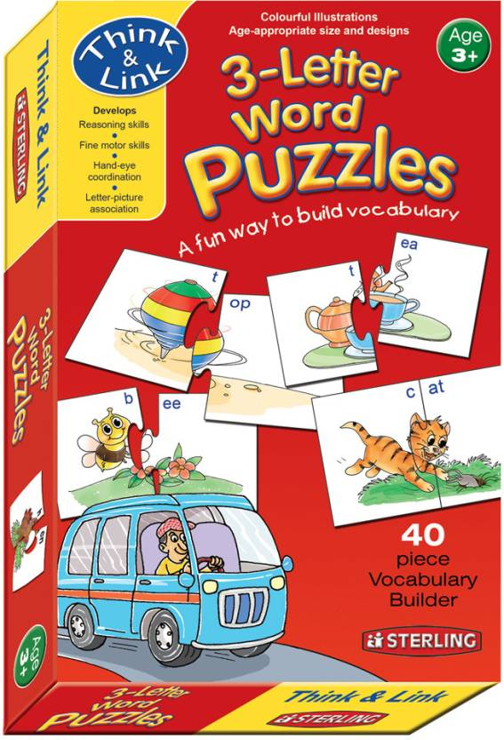 Sterling 3 Letter Word Puzzles