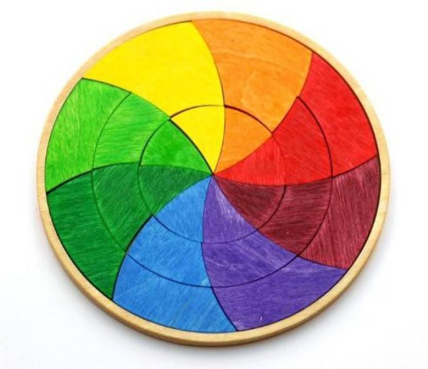 Grimm S Spiel And Holz Design Color Wheel Wooden Mini