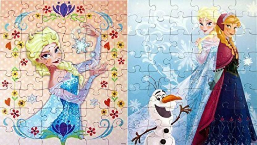 Frozen Disney Puzzles For Kids Princesses Anna Elsa Set Of 2