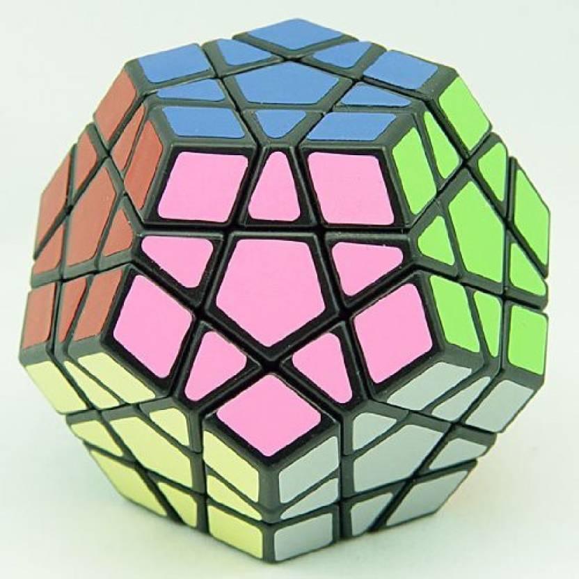 Mf8 Megaminx V3 Dodecahedron Puzzle Cube Sticker Black