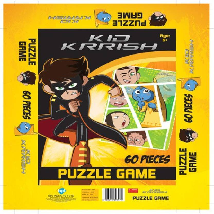 BPI Kid Krrish Puzzle Game 3971