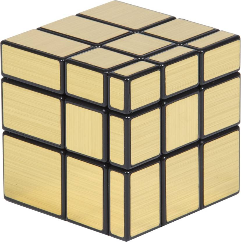 Imported shengshow gold mirror rubik magic cube for Mirror rubik s cube