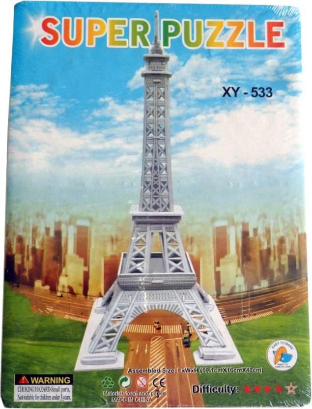 9be8b49e5a2d Super Puzzle 3d Eiffel Tower - 3d Eiffel Tower . shop for Super ...