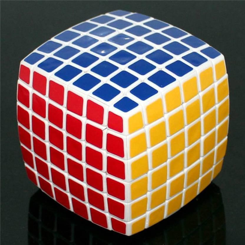 Diansheng 6x6 Rubik's Cube White Magic Puzzle - 6x6 Rubik's