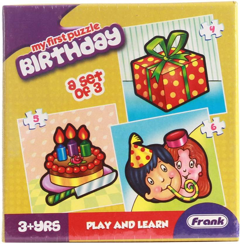 Frank First Puzzles - Birthday