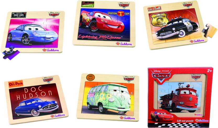 Eichhorn Cars Wooden Frame Puzzle - Cars Wooden Frame Puzzle . shop ...