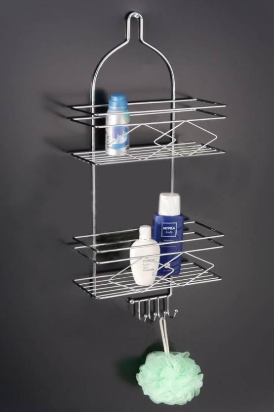 wetBlaze Shower Caddy Steel Wall Shelf Price in India - Buy ...
