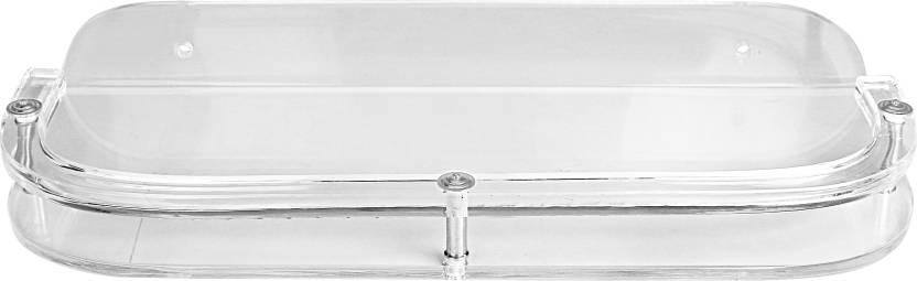 Admire 12'' 'D' Shelf Acrylic Wall Shelf Number of Shelves   1, Clear