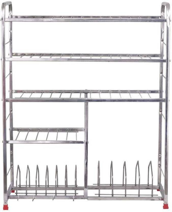 Maharaja Smart Modern Kitchen Rack Stand Bigger Size For Dishes Plates Glass Crockery