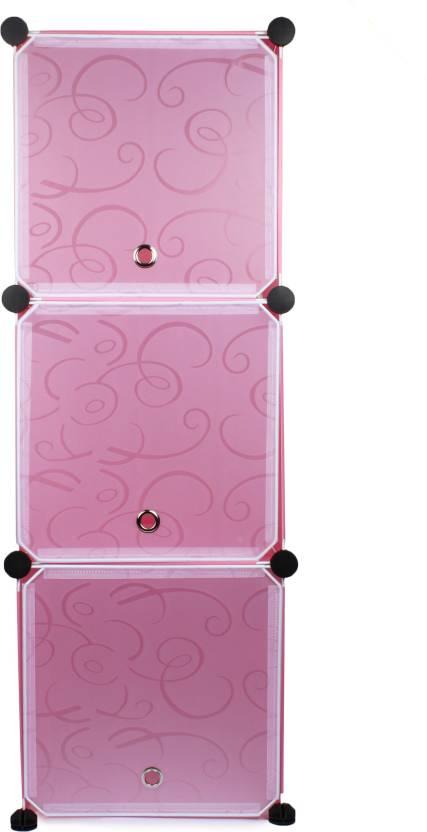 Cover It Foldable Rack Plastic Wall Shelf