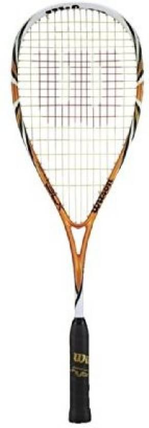 Wilson Sporting Goods Fierce BLX Squash Racquet G4 Strung Squash ...