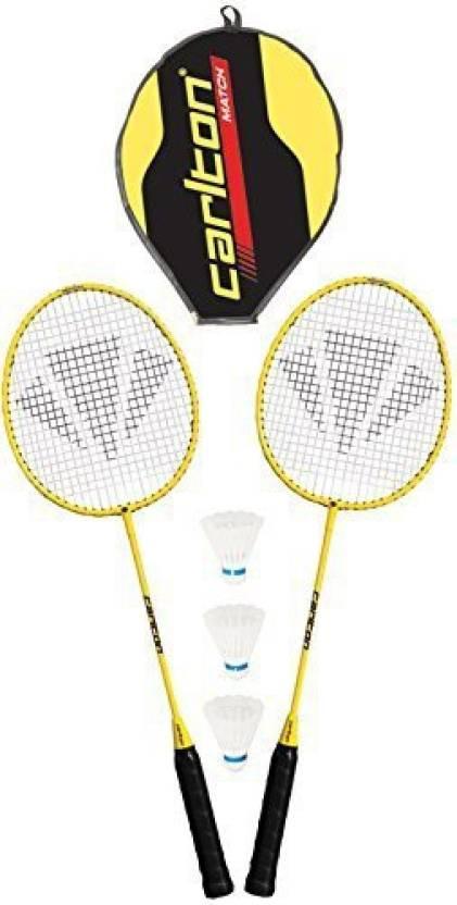 Carlton Match Badminton Set G4 Strung Badminton Racquet